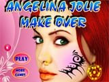 Juegos de Maquillar: Angelina Jolie Makeover - Juegos de Maquillar