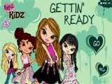 Juegos de vestir: Bratz kidz