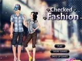 Juegos de Vestir y Maquillar: Checked Fashion  - juegos de vestir y maquillar