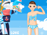 Juegos de vestir: Chica Marinera