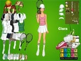 Clara tennis dressup