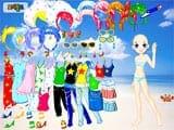 Juegos de Vestir: Doll Beach Dress Up