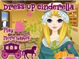 Dress up cinderella - Juegos de vestir y maquillar a princesas