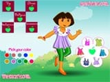 Dressup growing dora