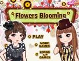 Juegos de vestir y maquillar : Flowers Blooming