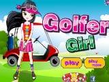 Juegos de Vestir: Golfer Girl
