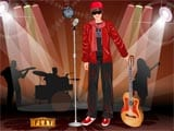 Justin Bieber Dress Up - Juegos de vestir y maquillar universitarias