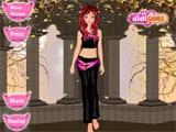 Juegos de vestir: Mujer Gato  -