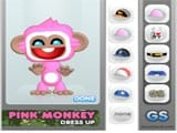 Pink Monkey Dress Up  - Juegos de Vestir