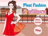 Juego de Vestir: Pleat Fashion