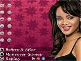 Juegos de vestir: Rihanna Makeover - Juegos de Maquillar