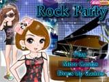 Juegos de vestir: Rock Party