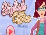Juegos de vestir: Style Office Makeover