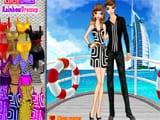 Juegos de vestir: Vacaciones en Dubai